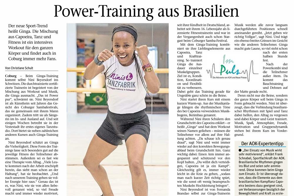 """Powertraining aus Brasilien"""
