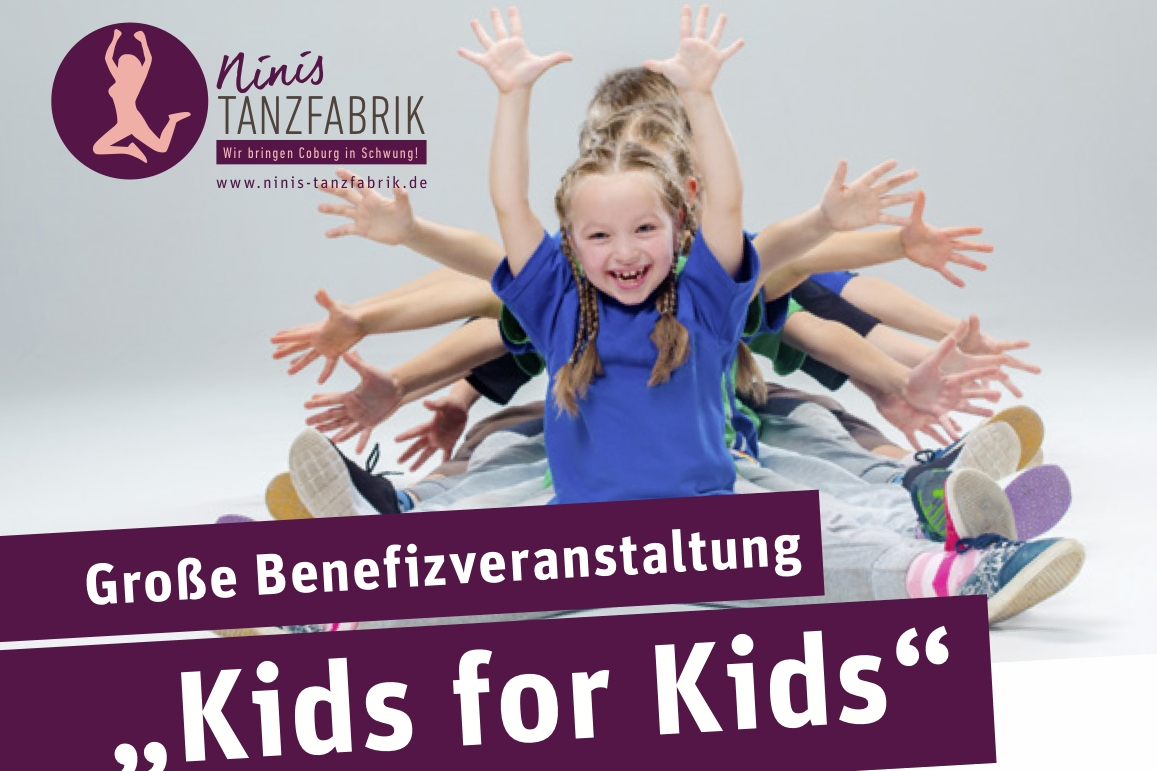 Benefiz: Kids for Kids am 1. April